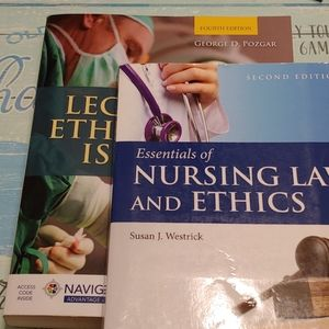 X2 textbooks: Legal Ethical Issues